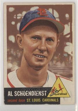 1953 Topps - [Base] #78 - Al Schoendienst [PoortoFair]