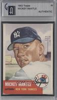 Mickey Mantle [GAI AUTHENTIC]