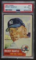 Mickey Mantle [PSA 4.5 VG‑EX+]