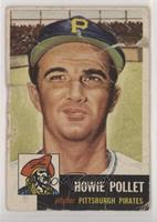 Howie Pollet [Poor to Fair]