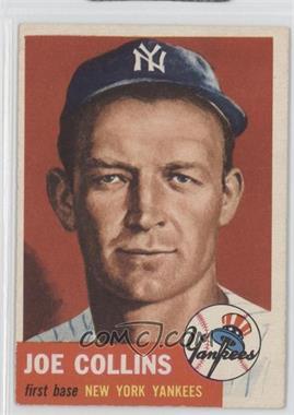 1953 Topps - [Base] #9 - Joe Collins