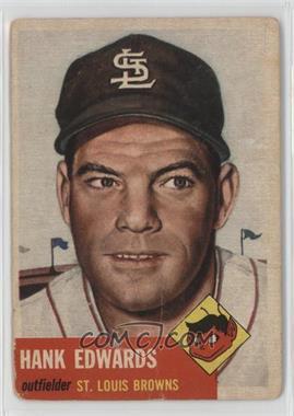 1953 Topps - [Base] #90.1 - Hank Edwards (Bio Information in Black) [PoortoFair]