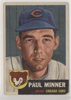 Paul Minner (Bio Information in Black) [Poor to Fair]