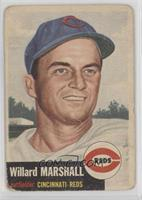 Willard Marshall (Bio Information in White) [Poor]