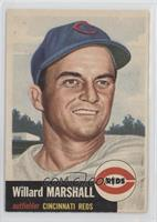 Willard Marshall (Bio Information in White) [Good to VG‑EX]