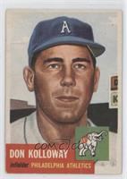 Don Kolloway (Bio Information in White) [Good to VG‑EX]