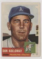 Don Kolloway (Bio Information in White)