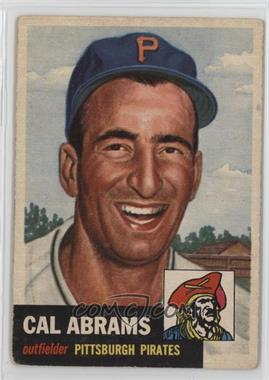 1953 Topps - [Base] #98 - Cal Abrams [Good to VG‑EX]