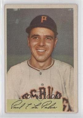 1954 Bowman - [Base] #107 - Paul LaPalme