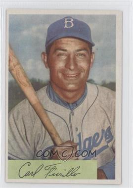 1954 Bowman - [Base] #122 - Carl Furillo