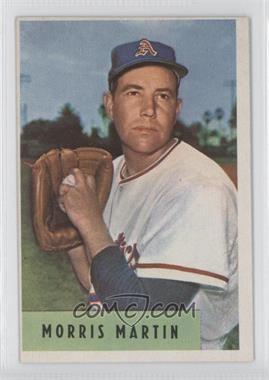 1954 Bowman - [Base] #179.1 - Morris Martin (E.R.A. 4.44)