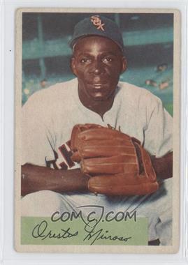 1954 Bowman - [Base] #38.1 - Minnie Minoso (Field Avg: .895 .961)