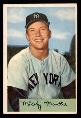 1954 Bowman - [Base] #65 - Mickey Mantle [VGEX]