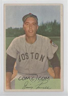 1954 Bowman - [Base] #66.2 - Jim Piersall