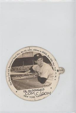 1954 Dixie Lids - [Base] - Hagen Hobby Ice Cream Back Back #GIMC - Gil McDougald