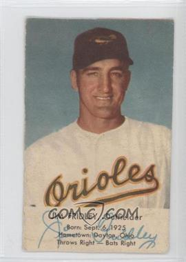 1954 Esskay Meats Baltimore Orioles - [Base] #JIFR - Jim Fridley [Good to VG‑EX]