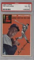 Ted Williams [PSA 4 VG‑EX]