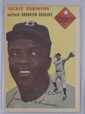 1954 Topps - [Base] #10 - Jackie Robinson [GoodtoVG‑EX]
