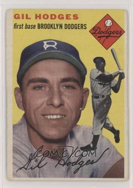 1954 Topps - [Base] #102 - Gil Hodges [Good to VG‑EX]
