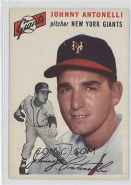 1954 Topps - [Base] #119 - Johnny Antonelli