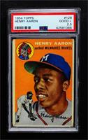 Hank Aaron [PSA 2.5 GOOD+]