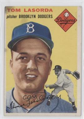 1954 Topps - [Base] #132 - Tom Lasorda [GoodtoVG‑EX]