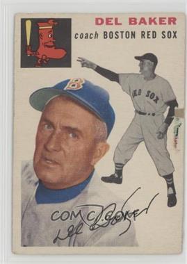 1954 Topps - [Base] #133 - Del Baker [Poor]