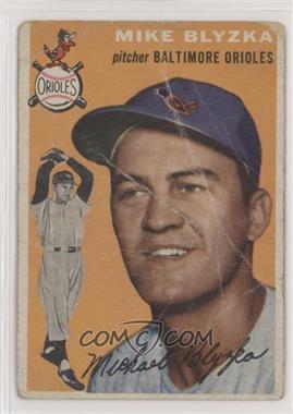 1954 Topps - [Base] #152 - Mike Blyzka [Poor]