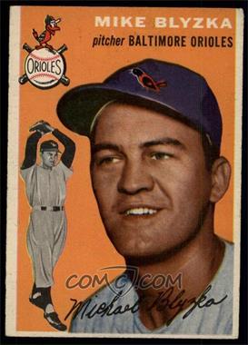 1954 Topps - [Base] #152 - Mike Blyzka [EXMT]
