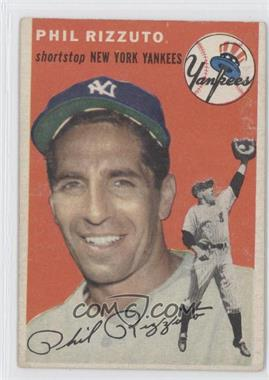 1954 Topps - [Base] #17 - Phil Rizzuto [Good to VG‑EX]