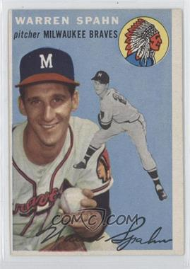 1954 Topps - [Base] #20 - Warren Spahn
