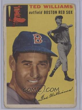 1954 Topps - [Base] #250 - Ted Williams [Poor]