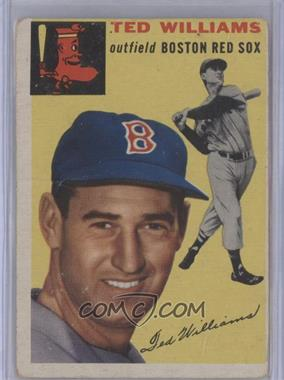 1954 Topps - [Base] #250 - Ted Williams [Good to VG‑EX]