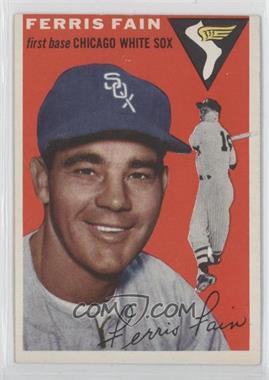 1954 Topps - [Base] #27 - Ferris Fain