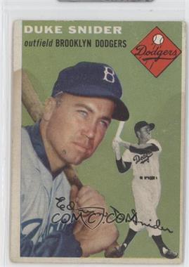 1954 Topps - [Base] #32 - Duke Snider