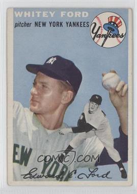 1954 Topps - [Base] #37 - Whitey Ford