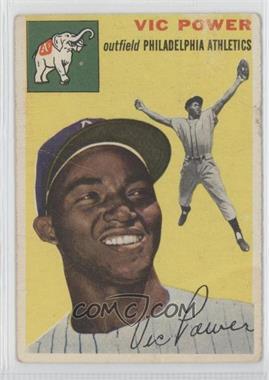 1954 Topps - [Base] #52 - Vic Power [GoodtoVG‑EX]