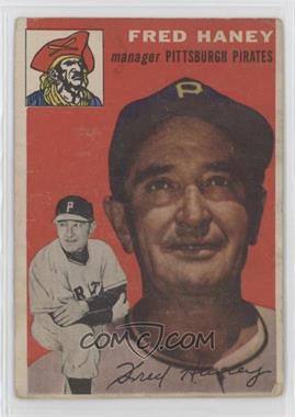 1954 Topps - [Base] #75 - Fred Haney [GoodtoVG‑EX]