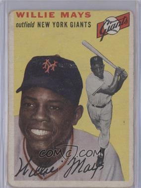 1954 Topps - [Base] #90 - Willie Mays [PoortoFair]
