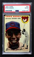 Ernie Banks [PSA 2 GOOD]