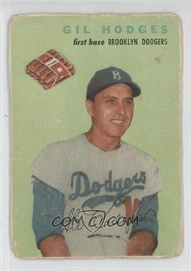 1954 Wilson Franks - [Base] #GIHO - Gil Hodges [Poor]