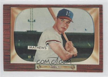 1955 Bowman - [Base] #103 - Eddie Mathews