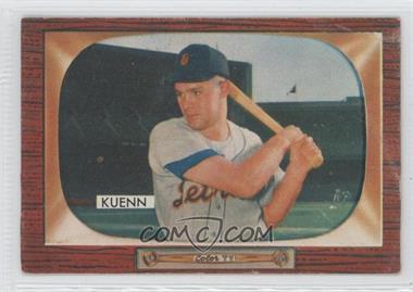 1955 Bowman - [Base] #132.2 - Harvey Kuenn (Kueen Back)