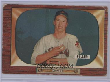 1955 Bowman - [Base] #134 - Bob Feller [Poor]