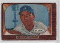 Gil Hodges (Card Lists him as an Outfielder) [NoneGoodtoVG…