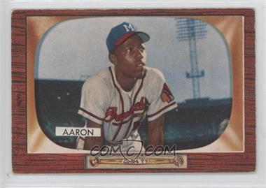 1955 Bowman - [Base] #179 - Hank Aaron