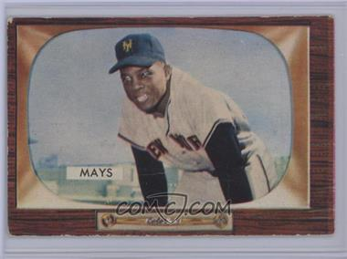 1955 Bowman - [Base] #184 - Willie Mays [Poor]