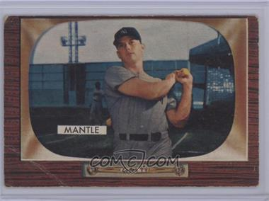1955 Bowman - [Base] #202 - Mickey Mantle [Poor to Fair]
