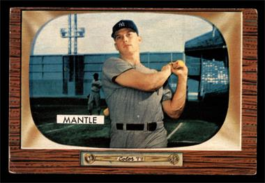 1955 Bowman - [Base] #202 - Mickey Mantle [GOOD]