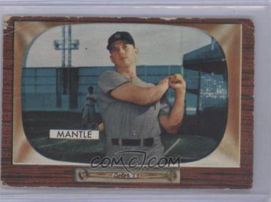 1955 Bowman - [Base] #202 - Mickey Mantle [Good to VG‑EX]